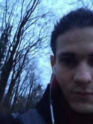 Walking Winter Woods
